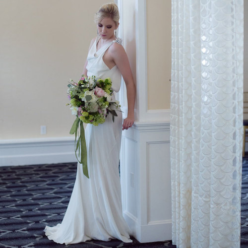 French Knot Couture wedding dress