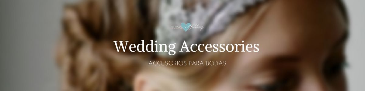 wedding accessories accesorios bodas
