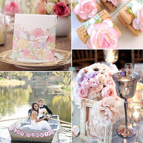 Pastel floral invitation. Gorgeous!