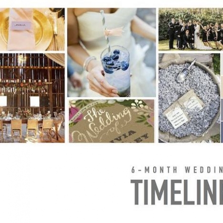 6-month wedding timeline perfect to plan your big day