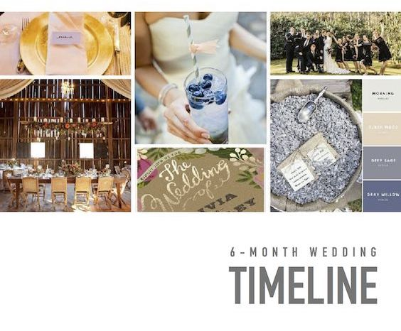 Plan Your Wedding Me My Big: 6-Month Wedding Timeline: Simple & Super Complete Planning